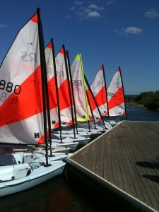 RS Teras at Salterns Sailing Club