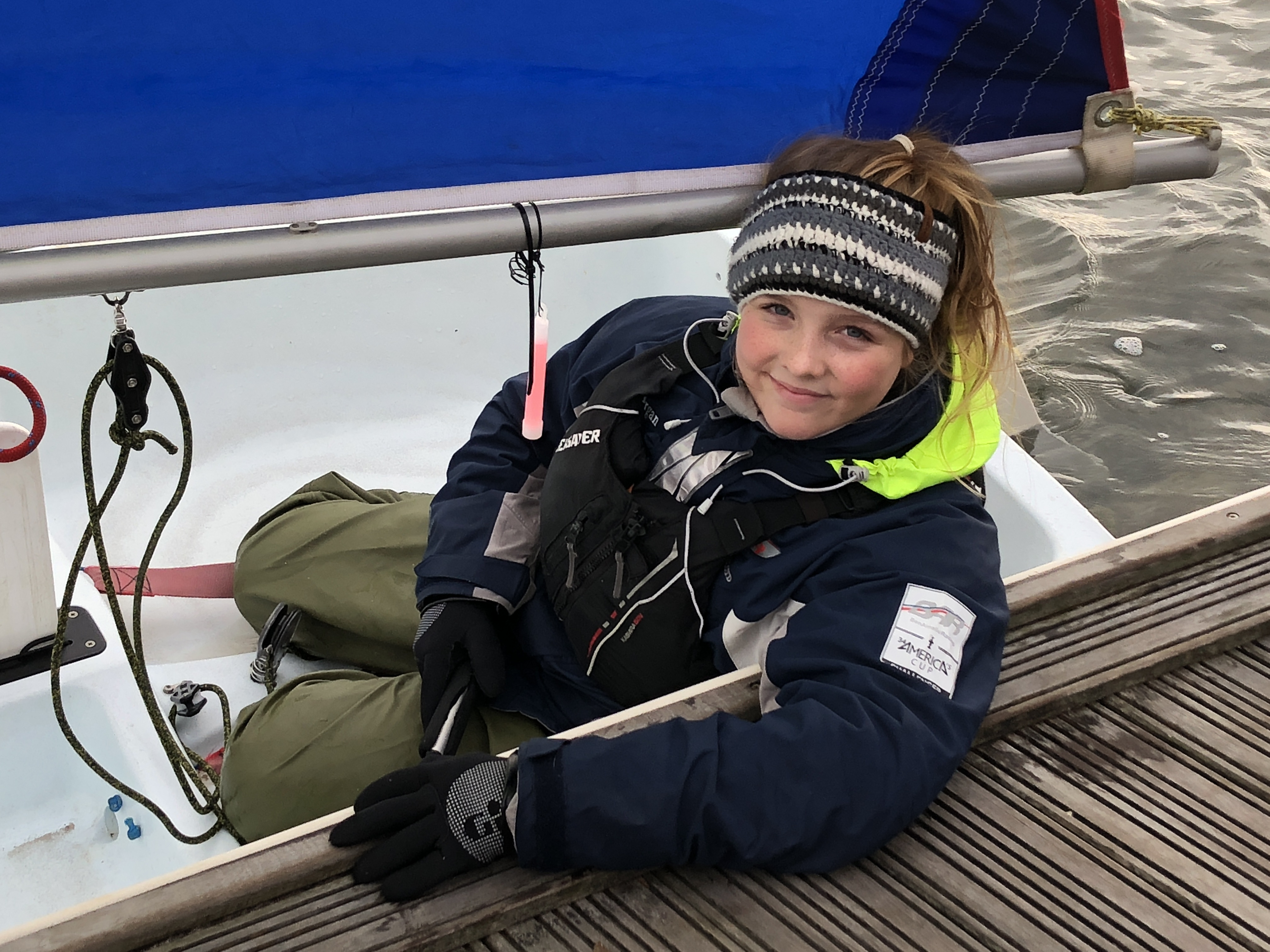 Freya Baddeley - Commodore Salterns Sailing Club 2019