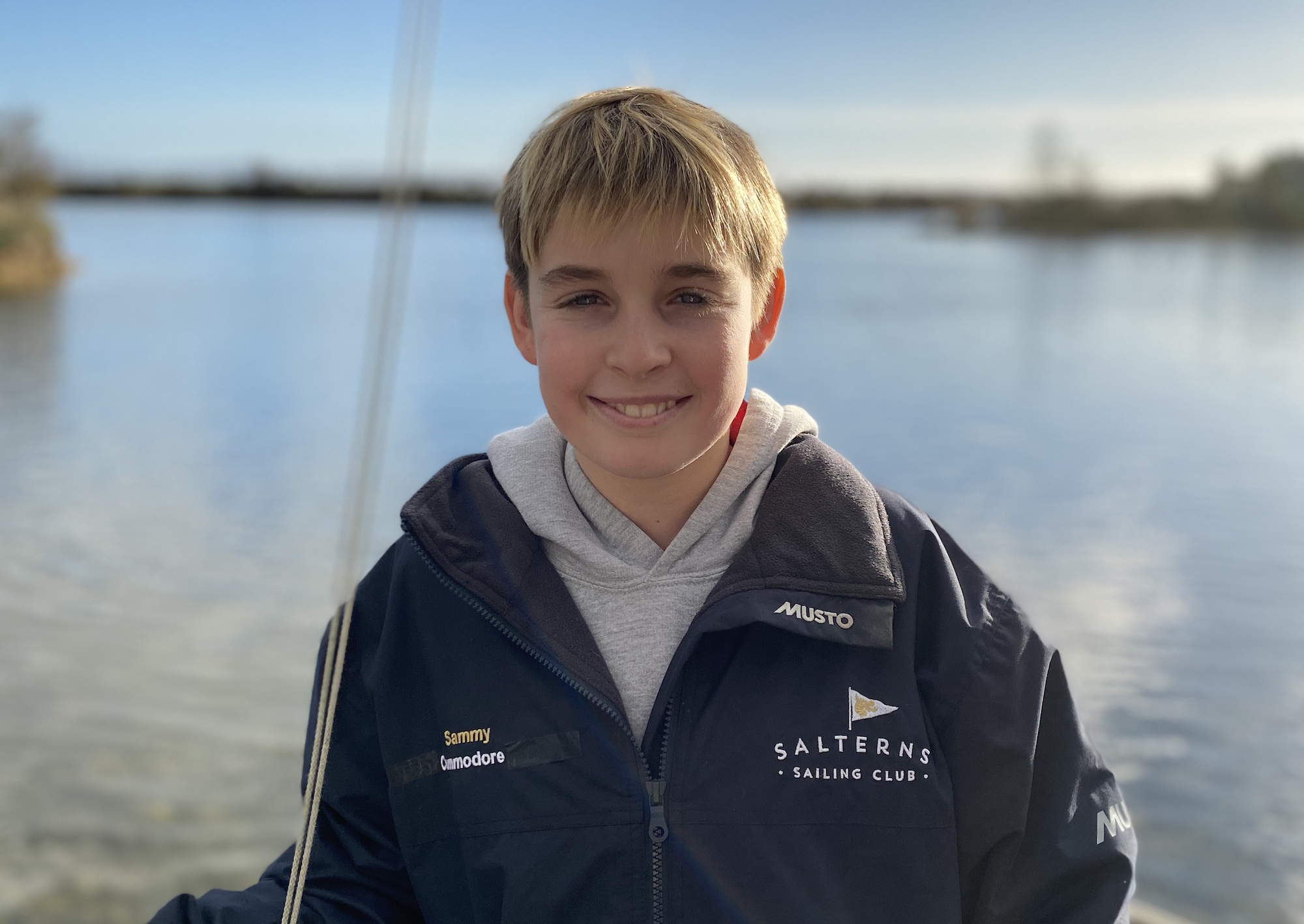 Sammy Griffiths - Commodore Salterns Sailing Club 2020